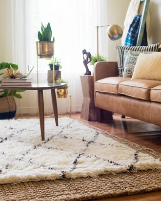 How To Layer Rugs Gardner White Blog