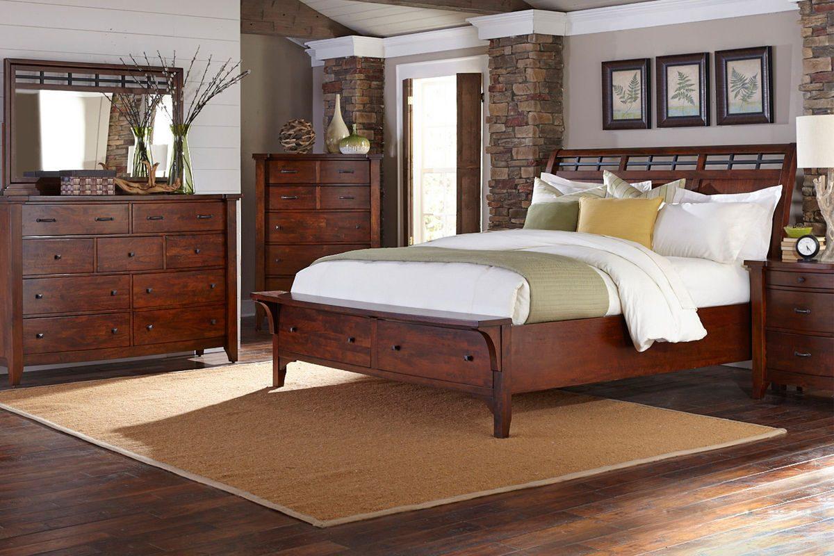 Looks for Less: Storage Sleigh Bed – Gardner-White Blog