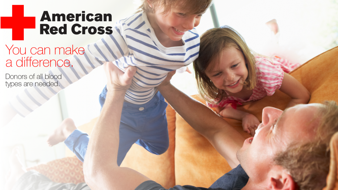 American Red Cross Blood Drive: You can make a difference
