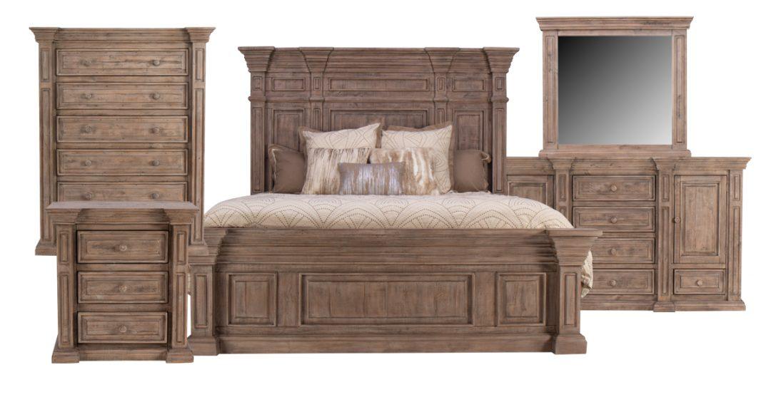 Looks for Less: Stately Architectural Bedroom – Gardner ...