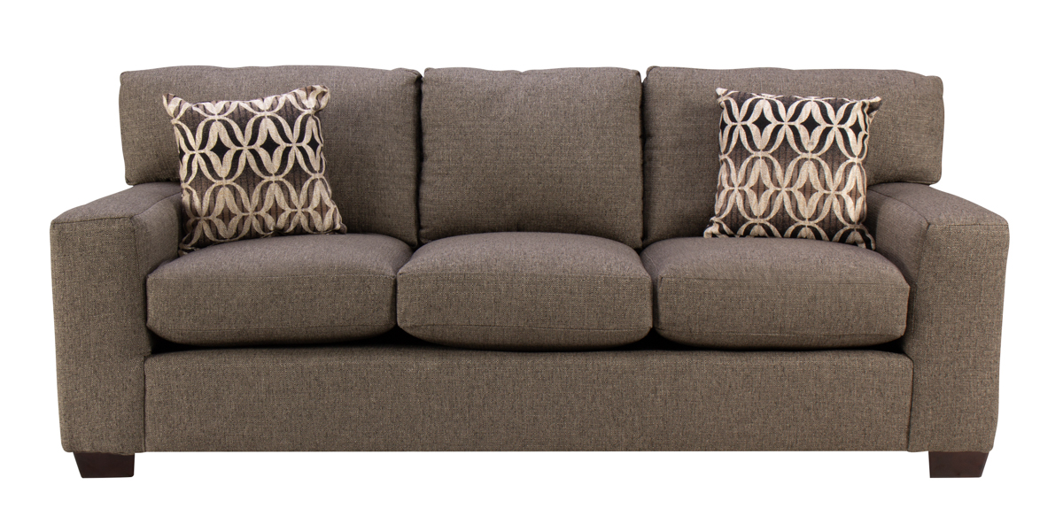 Sandra Sofa in Dark Charcoal Grey