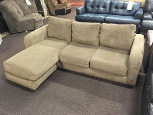clearance banner sofa wchaise waterford was 699 outlet 487