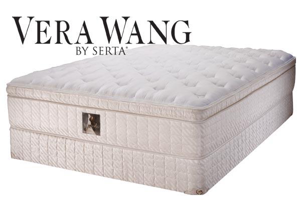 Vera Wang By Serta Trillion Eurotop Plush Collection