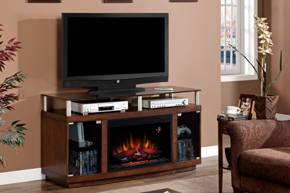 Classic flame electric fireplaces home decor collection for Decor flame electric fireplace