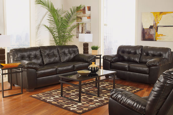 alliston by ashley sofas from 37795 - Leather Living Room Furniture