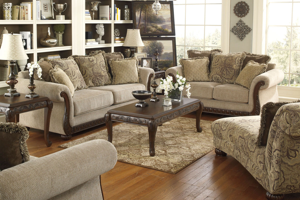 Gracie by ashley collection for Living room ideas ashley furniture