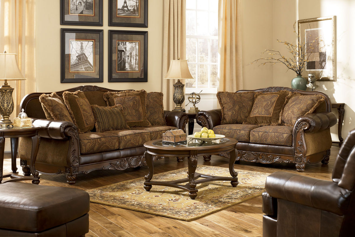 Ashley Living Room Furniture frescoashley® living room collection