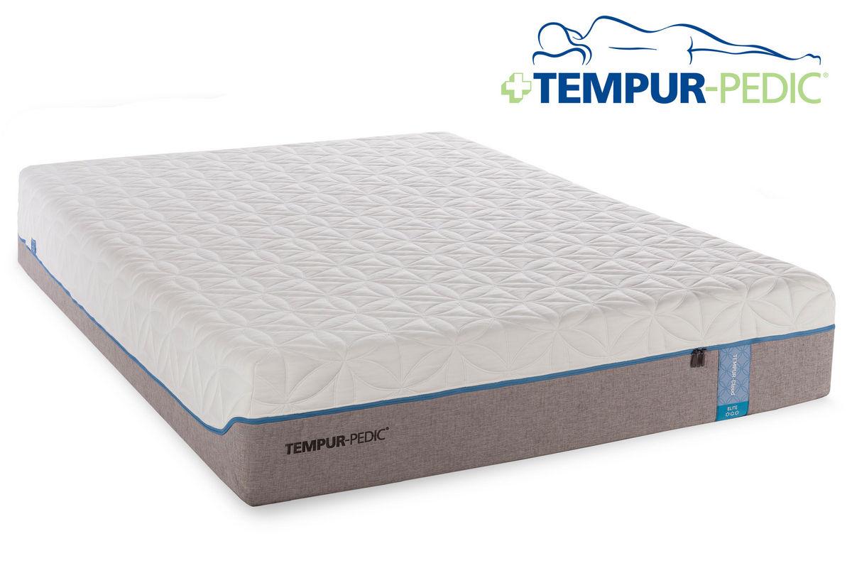 tempur cloud elite mattresses collection. Black Bedroom Furniture Sets. Home Design Ideas