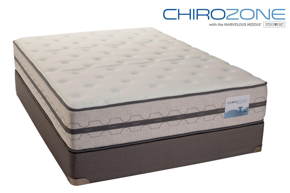 Restonic Chirozone Mattresses Collection