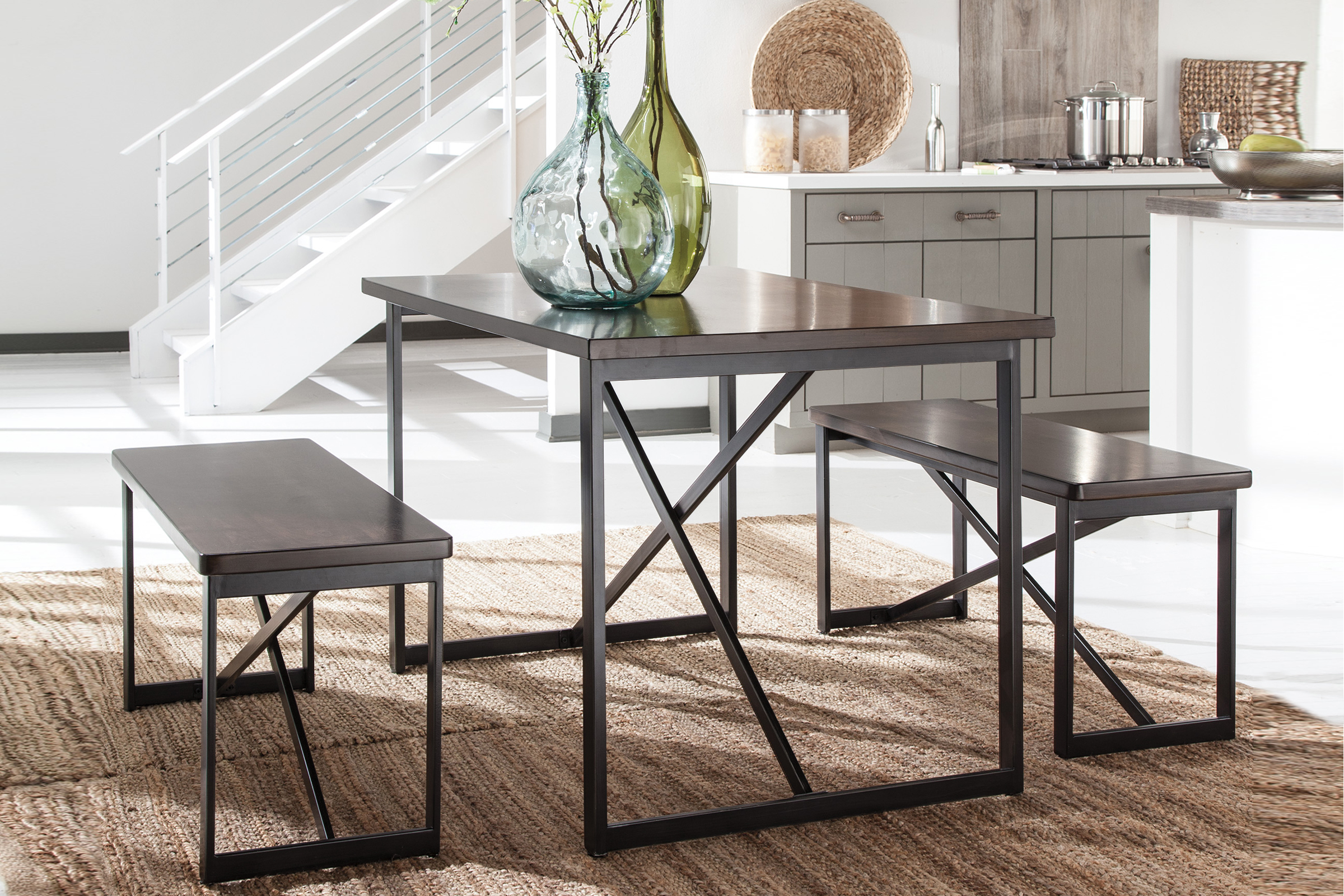 White wood dining room table - Joring Packages From 299 99