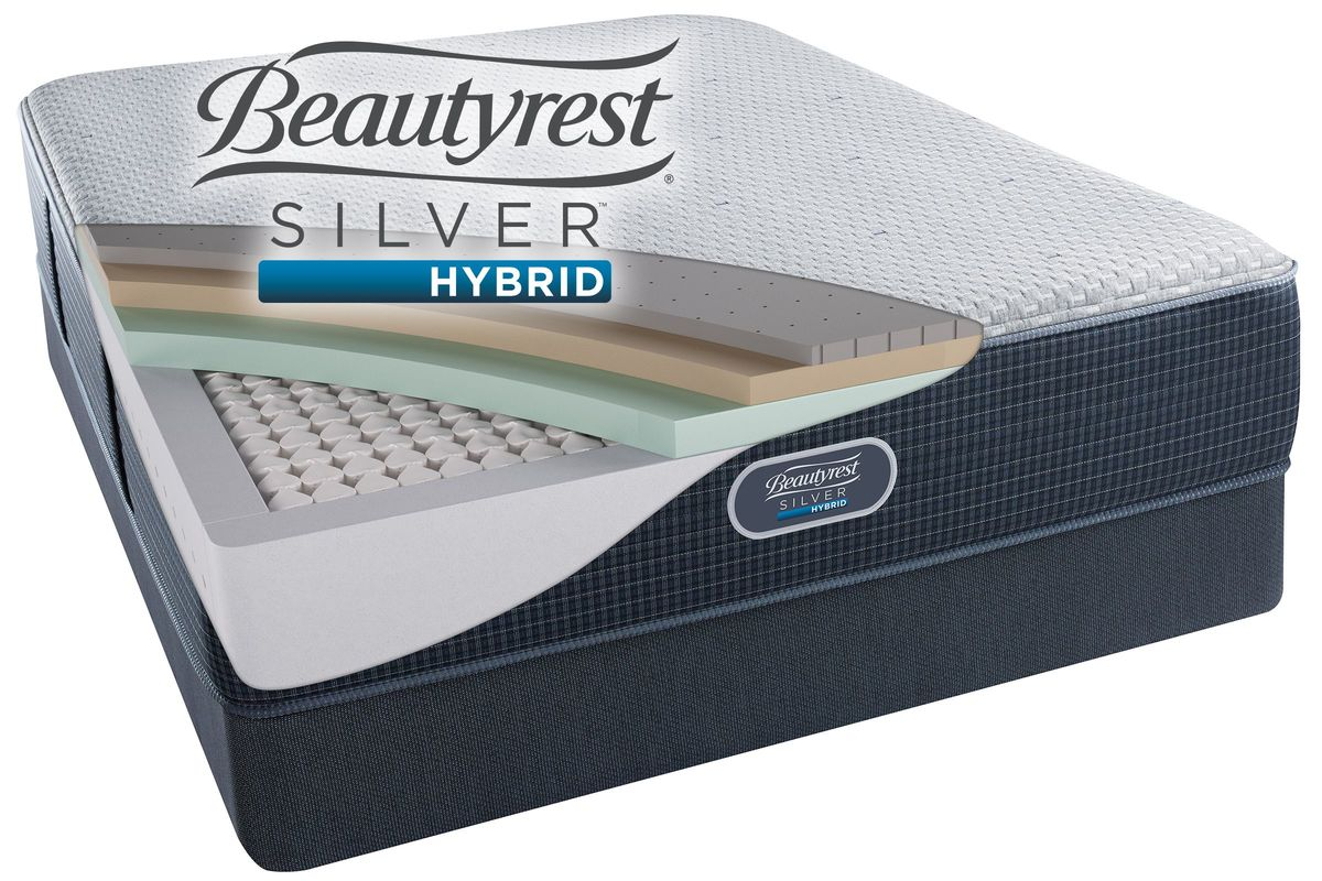 Beautyrest® Silver™ Hybrid Harbour Beach™ Ultimate Plush