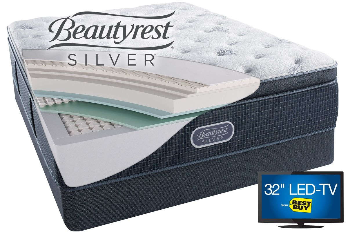 Beautyrest® Silver™ Charcoal Coast™ from Gardner-White Furniture