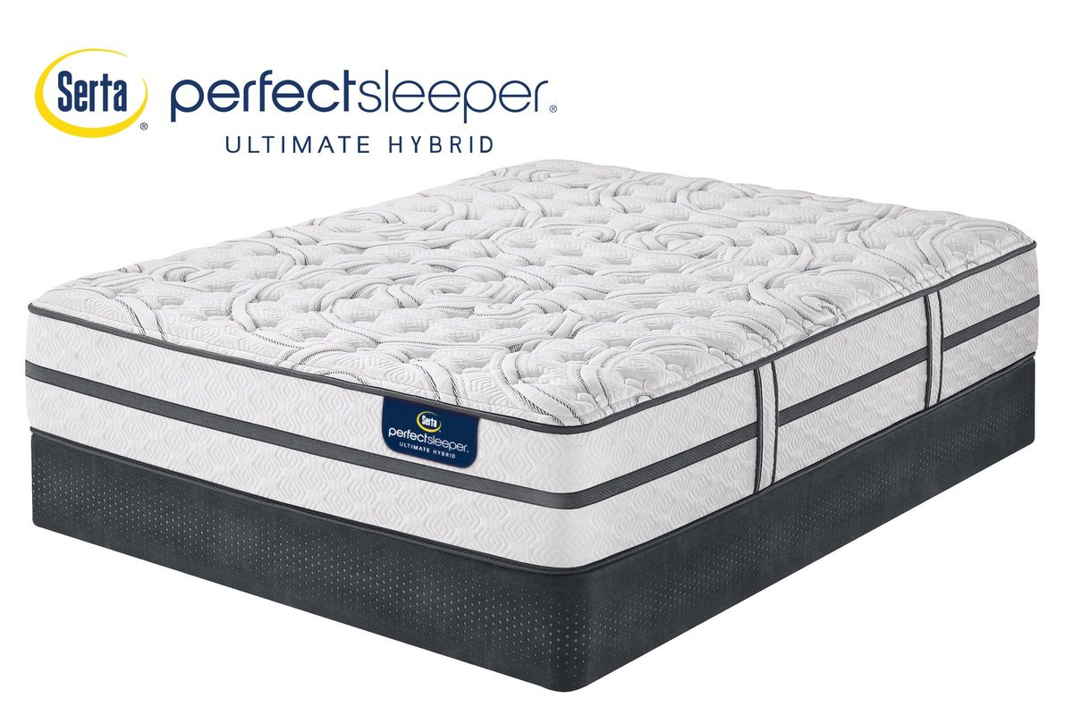 Serta 174 Perfect Sleeper 174 Ultimate Hybrid Silverbrook