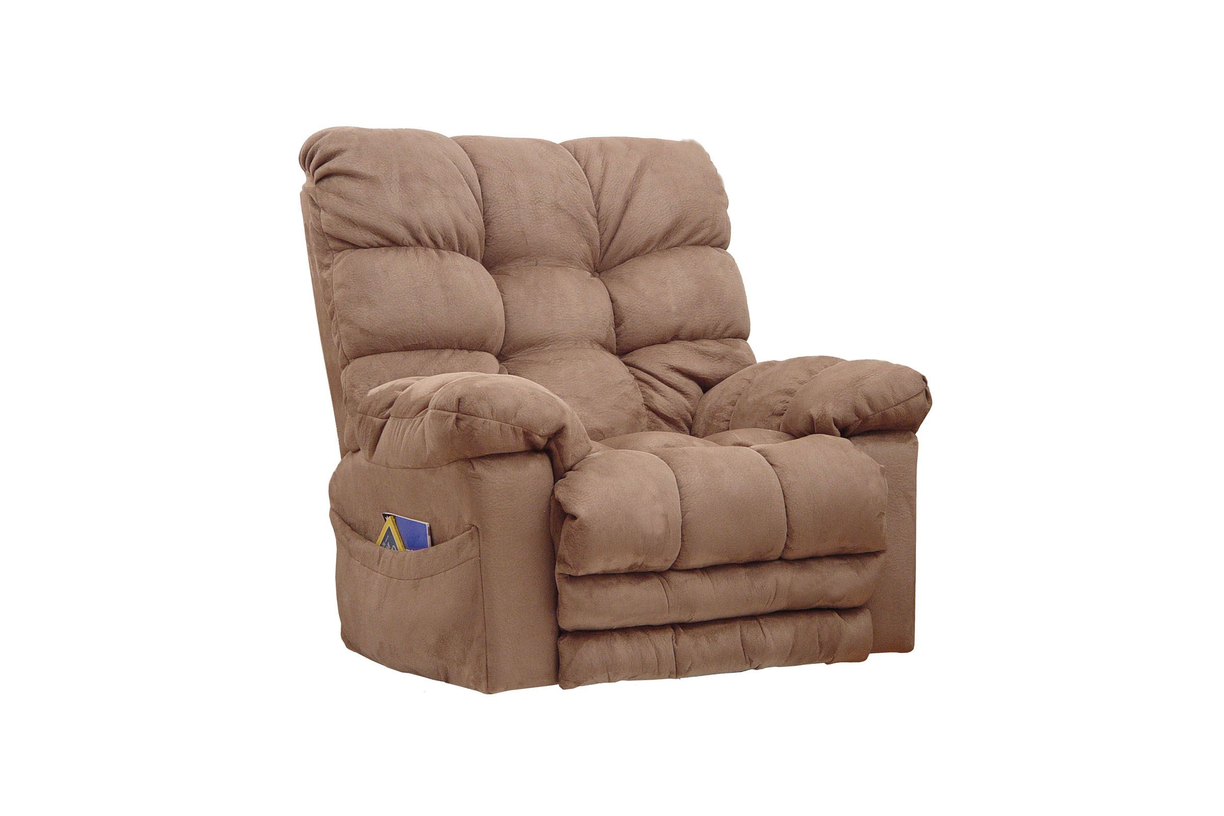 Rocker recliner catnapper voyager sectional with lay flat for Catnapper teddy bear chaise recliner