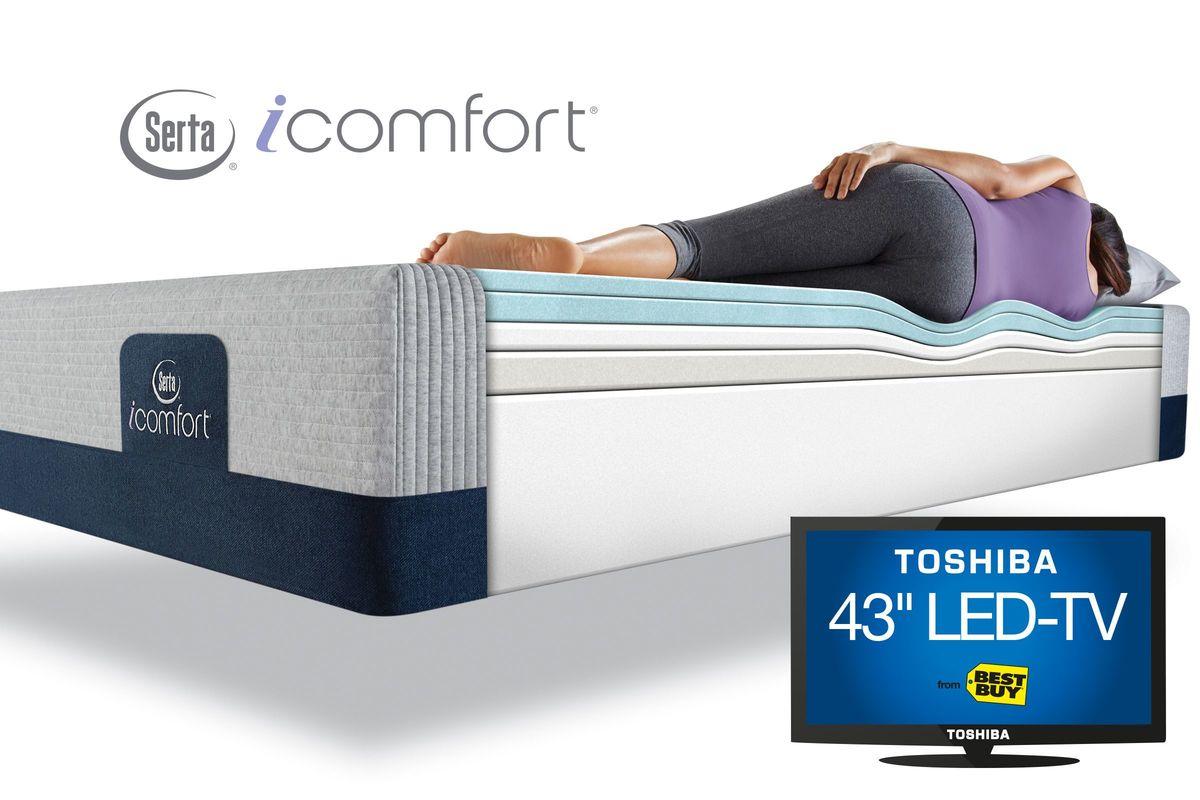 Serta® iComfort® Blue 300 XT Queen size $1,399