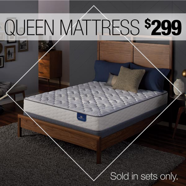 Serta Perfect Sleeper Romberg Queen Mattress $199 (sold in sets only)