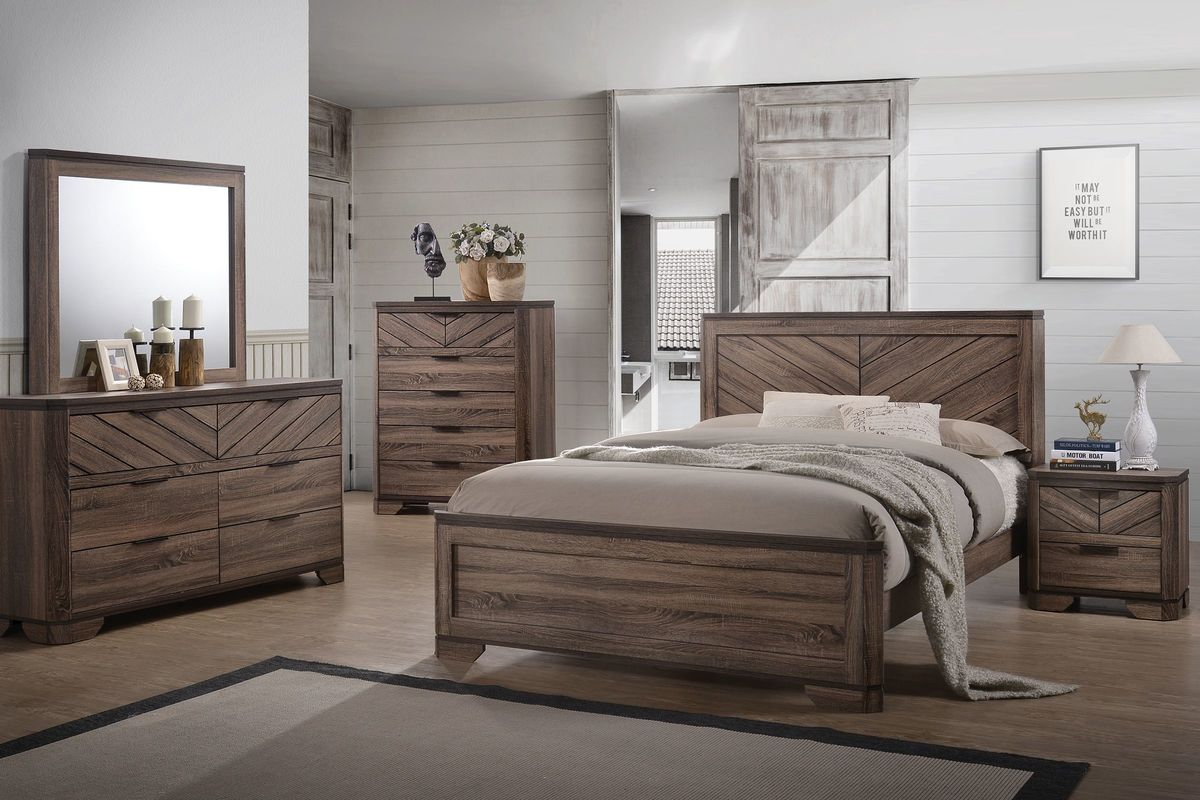 Seaburg 5-Piece Queen Bedroom Set from Gardner-White Furniture