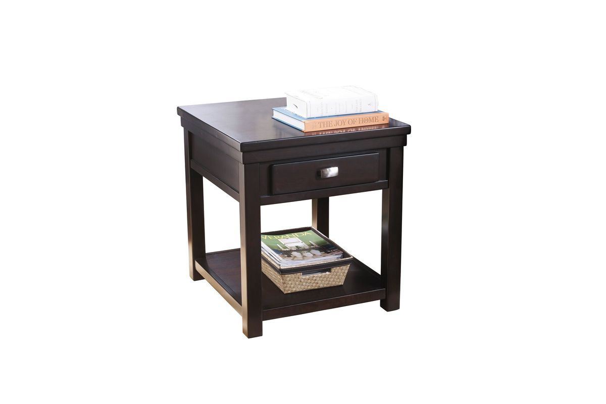 Hatsuko Rectangular End Table by Ashley from Gardner-White Furniture