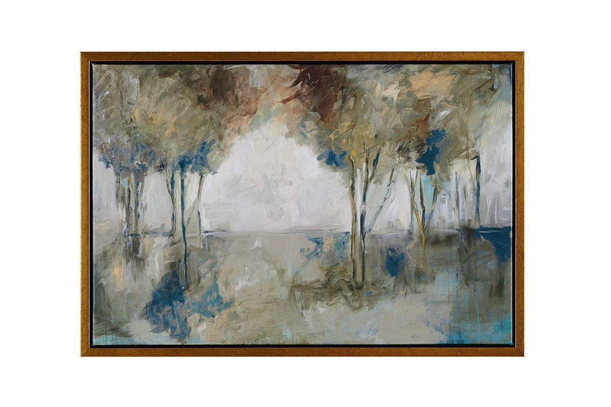 Muted Trees Wall Art from Gardner-White Furniture