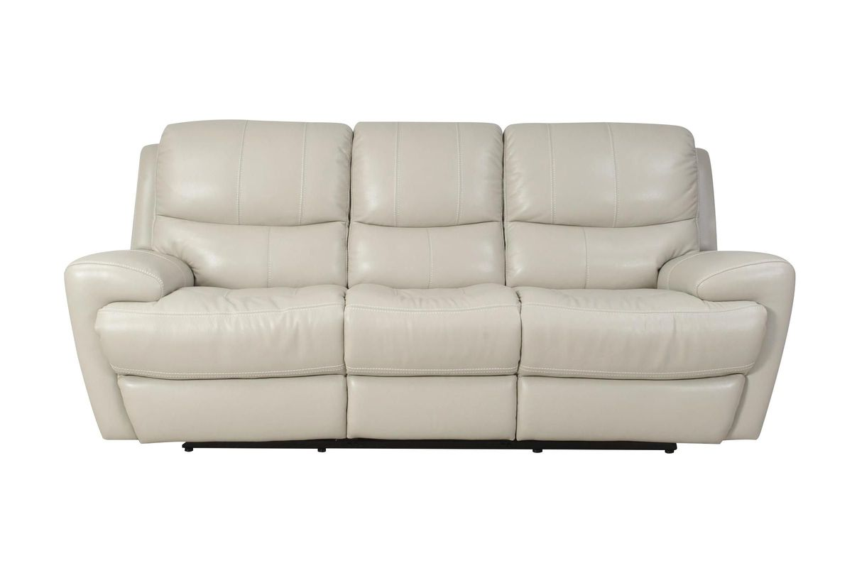 Andros Leather Power Reclining Sofa At Gardner White