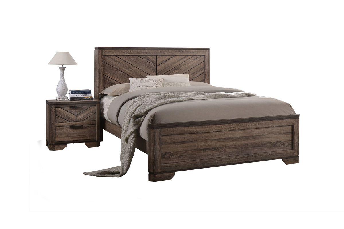 Seaburg King Bed from Gardner-White Furniture