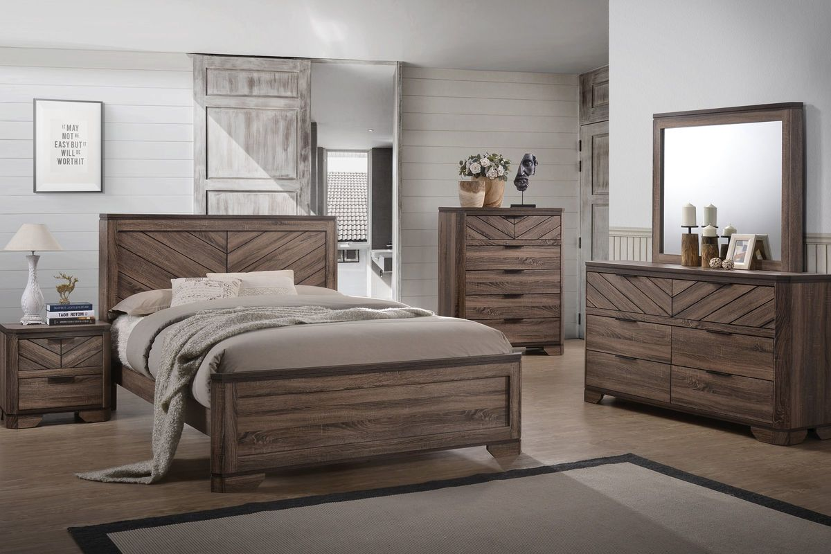 Seaburg 5 Piece King Bedroom Set From Gardner White Furniture