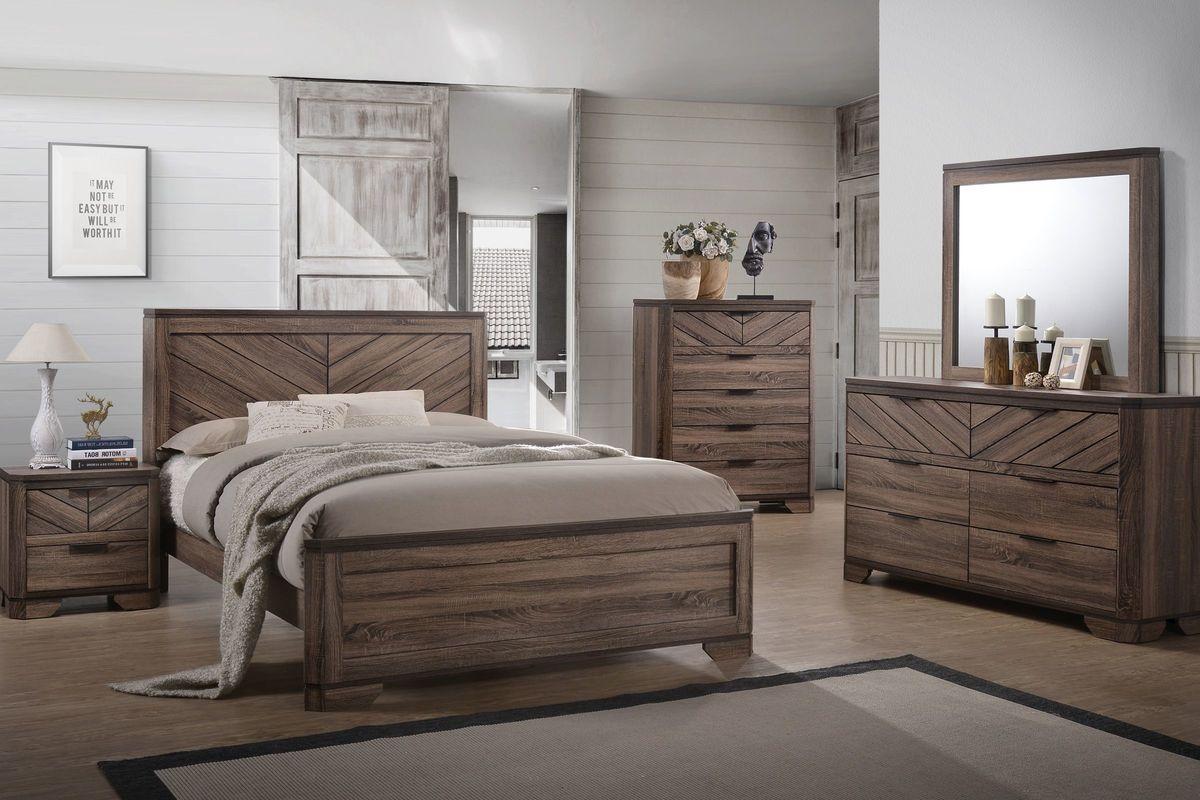 Seaburg 5-Piece Queen Bedroom Set