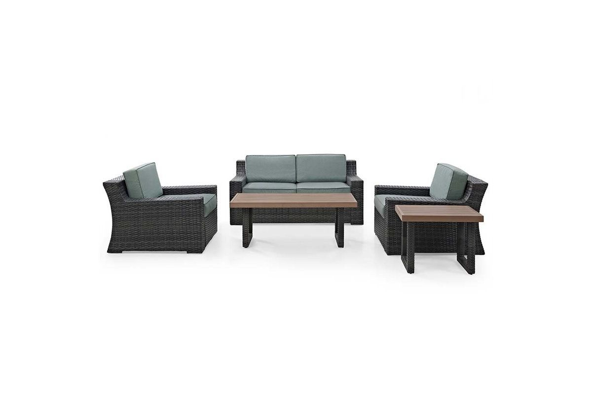 Beaufort 5 Piece Outdoor Seating Set by Crosley from Gardner-White Furniture