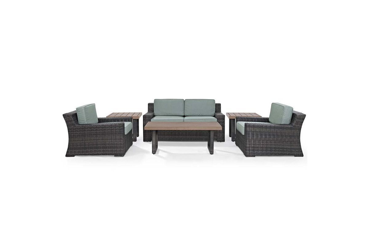 Beaufort 6 Piece Outdoor Seating Set by Crosley from Gardner-White Furniture