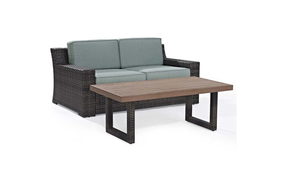 Beaufort 2 Piece Outdoor Seating Set by Crosley from Gardner-White Furniture