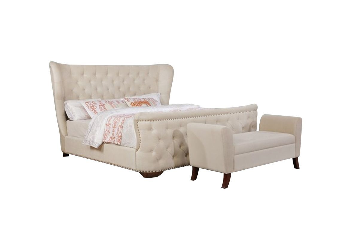 Armani Queen Bed from Gardner-White Furniture