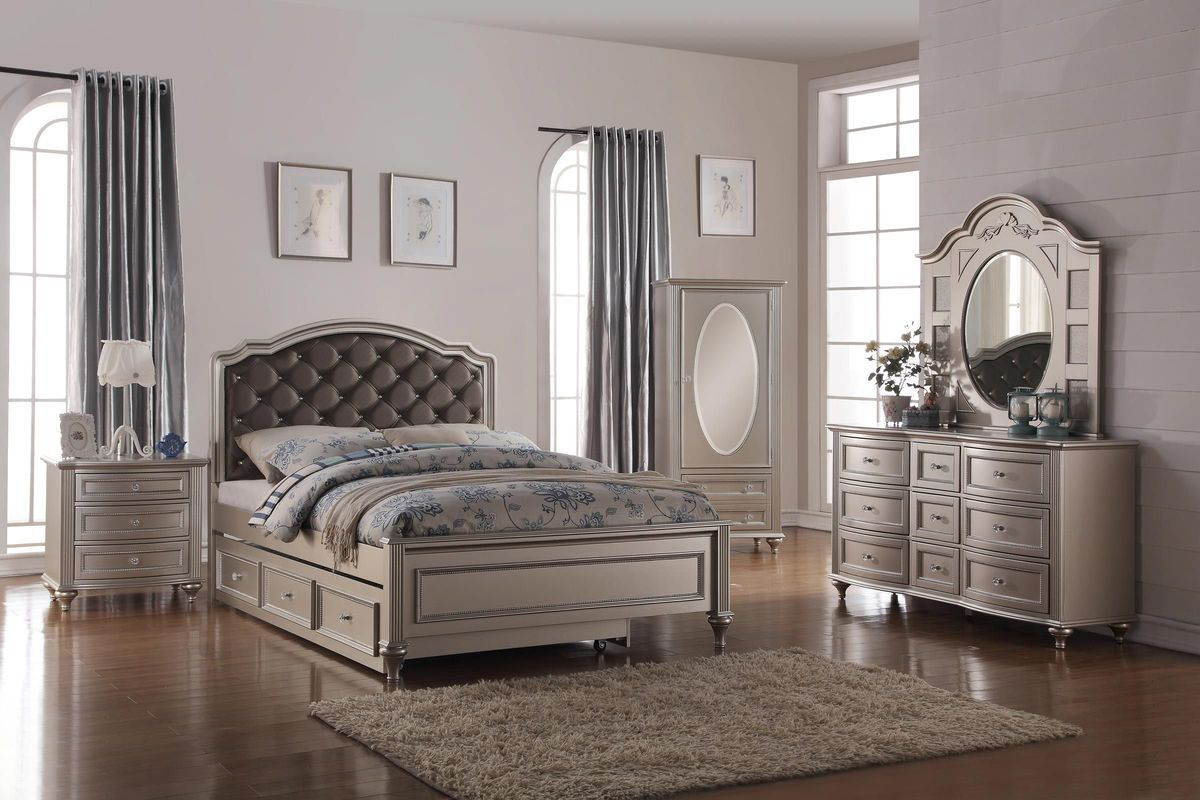 chantilly twin bedroom set at gardner white 13152 | 104301 1200x800