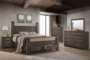 Joplin 5-Piece King Bedroom Set at Gardner-White