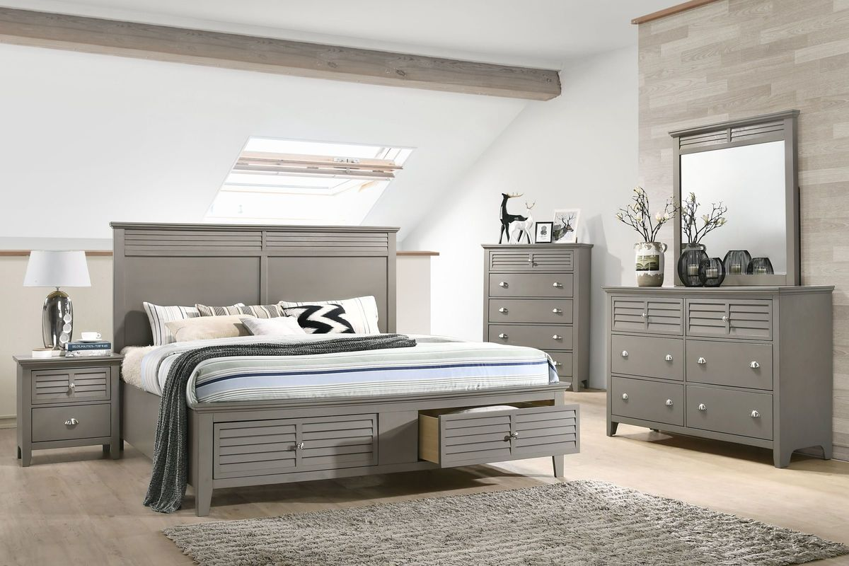 Grant 5-Piece Queen Bedroom Kit from Gardner-White Furniture