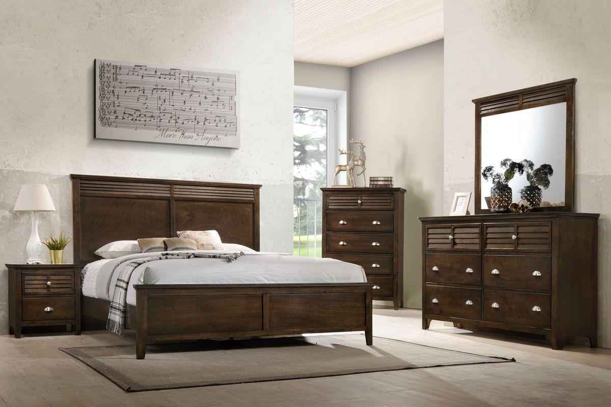 Jersey 5-Piece King Bedroom Set at Gardner-White