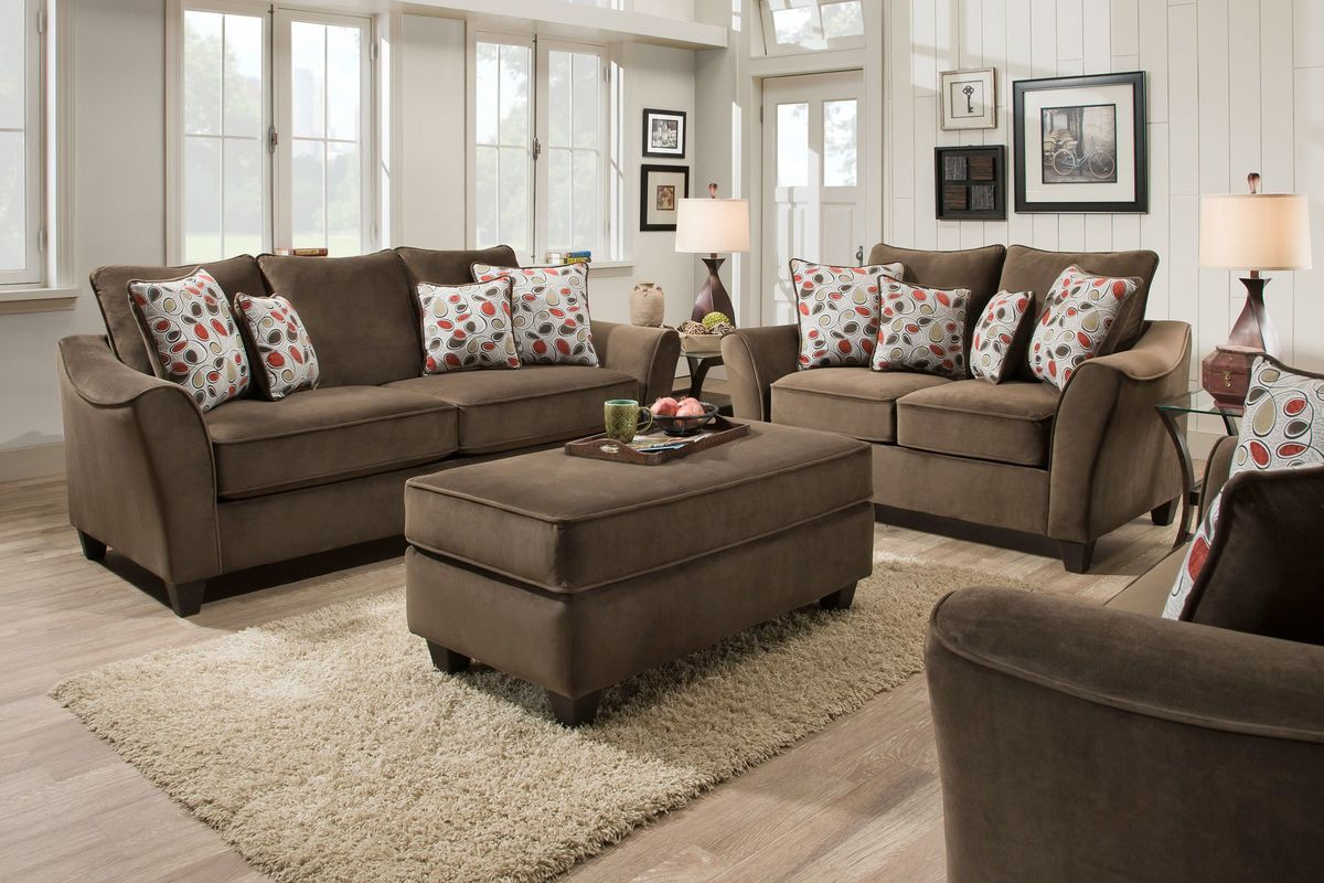 Bethany Microfiber Sofa and Loveseat from Gardner-White Furniture