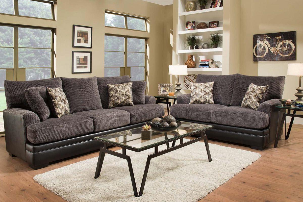 Rocky Sofa + Loveseat from Gardner-White Furniture