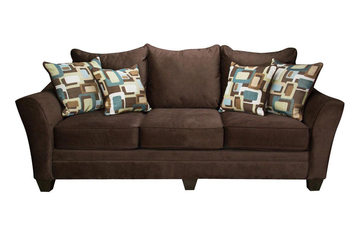 Boca Microfiber Sofa From Gardner White Furniture