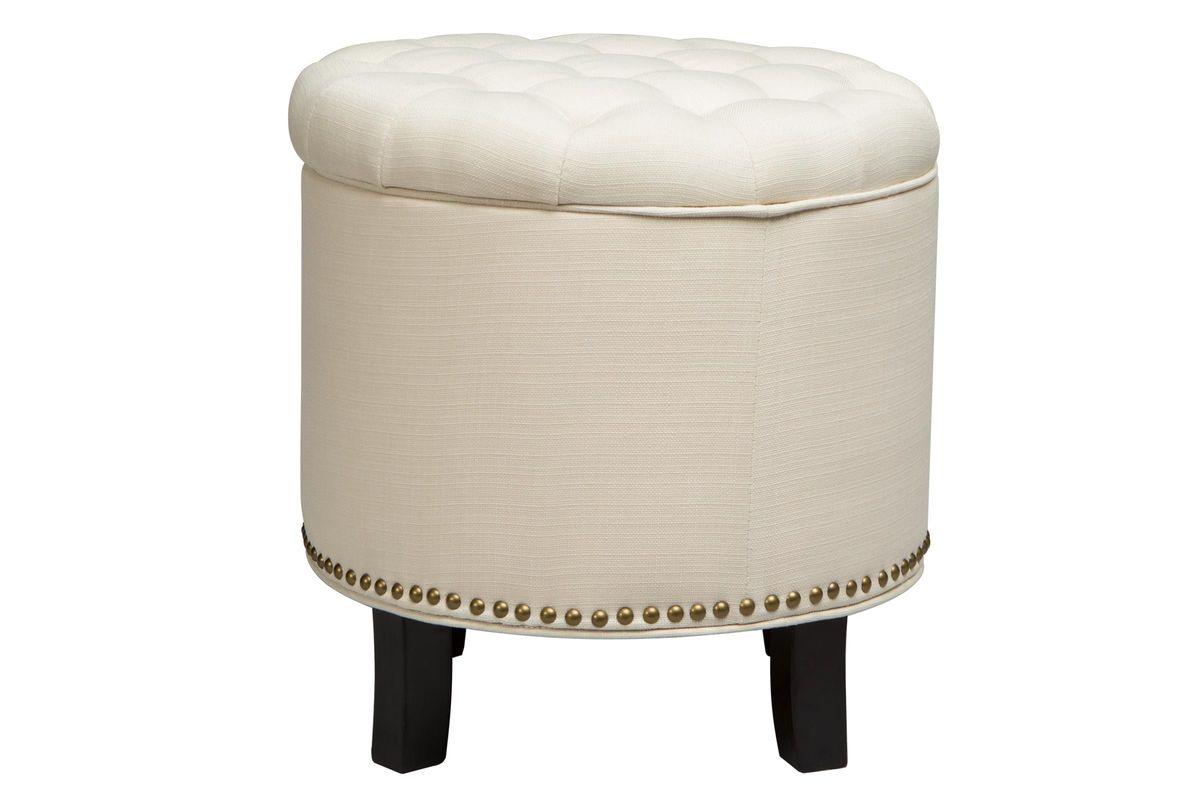 Round Quilt Top Ottoman from Gardner-White Furniture