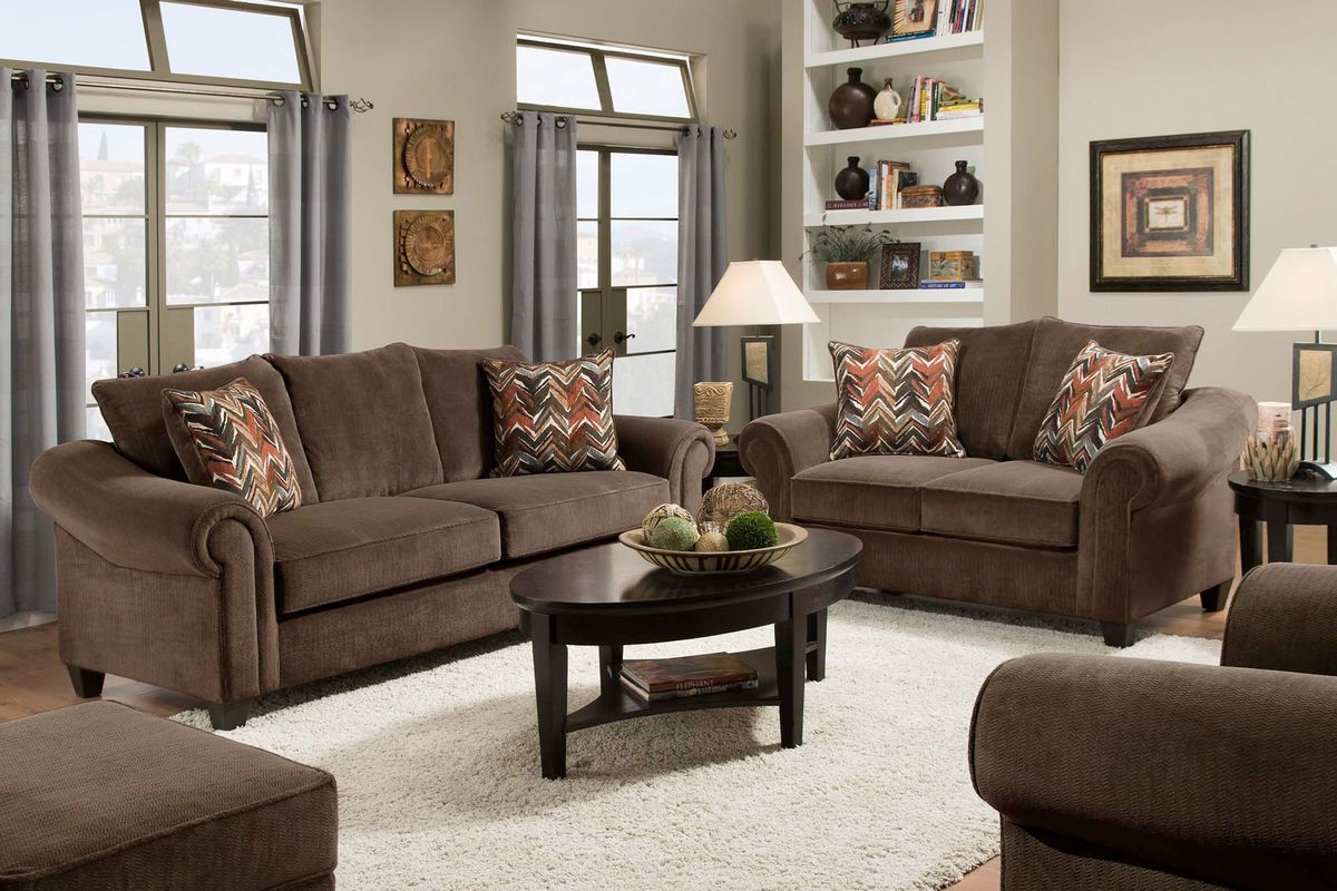 Dynasty Sofa + Loveseat from Gardner-White Furniture