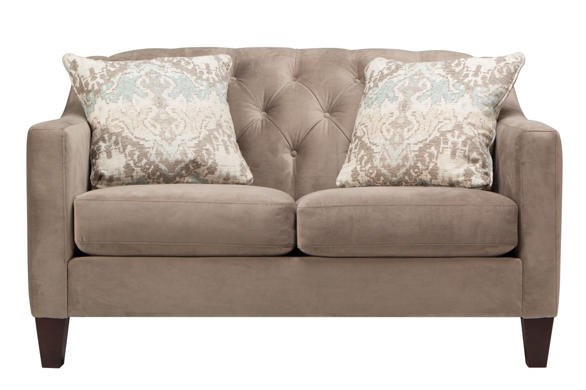Astonishing Nina Loveseat Machost Co Dining Chair Design Ideas Machostcouk