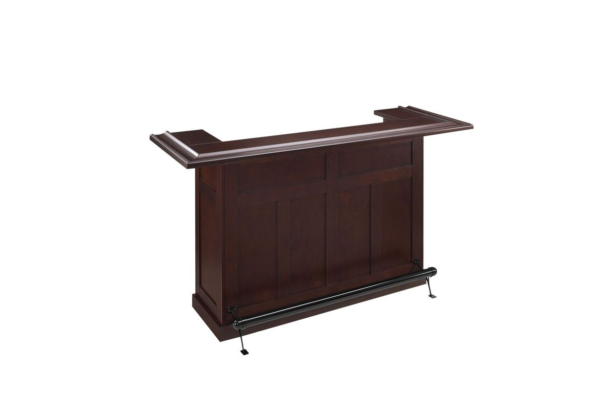 Reynolds Bar in Rustic Mahogany by Crosley from Gardner-White Furniture