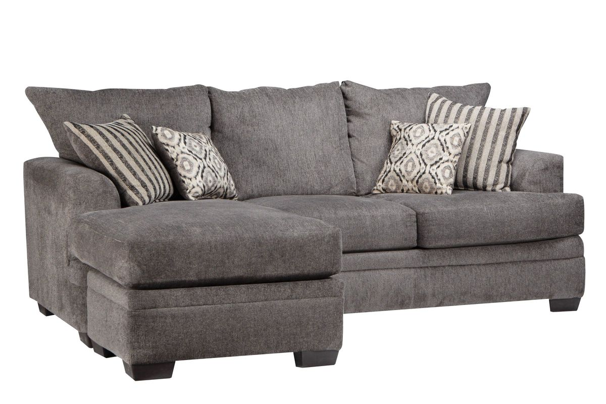 Brilliant Lynwood Chenille Sectional With Moveable Chaise Evergreenethics Interior Chair Design Evergreenethicsorg