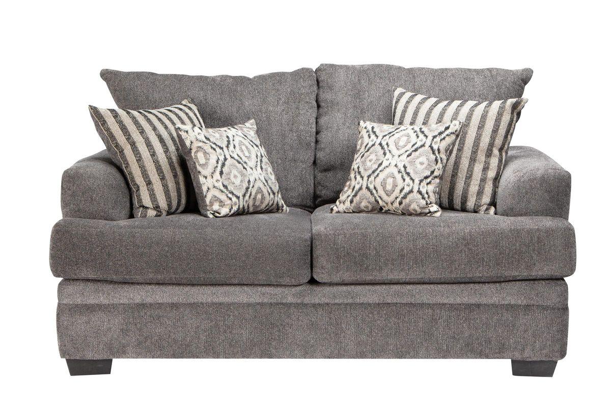 Lynwood Chenille Loveseat from Gardner-White Furniture