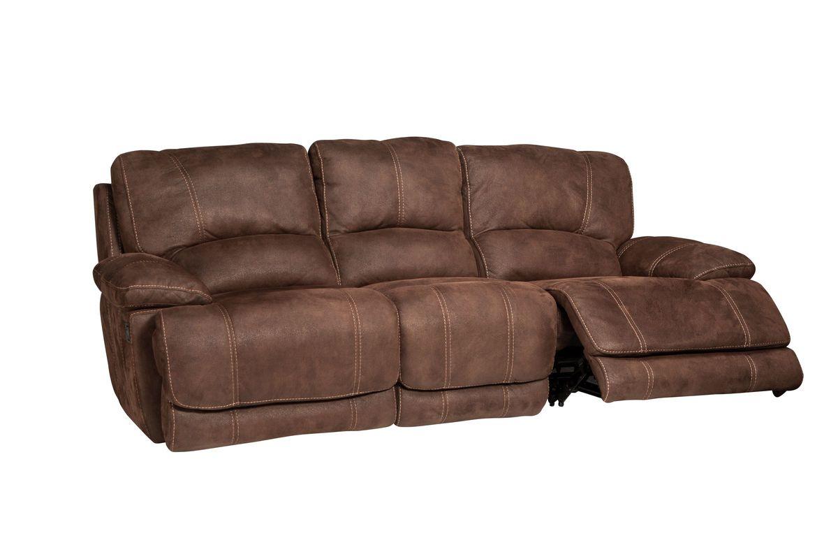 Valeri Microfiber Reclining Sofa At Gardner White