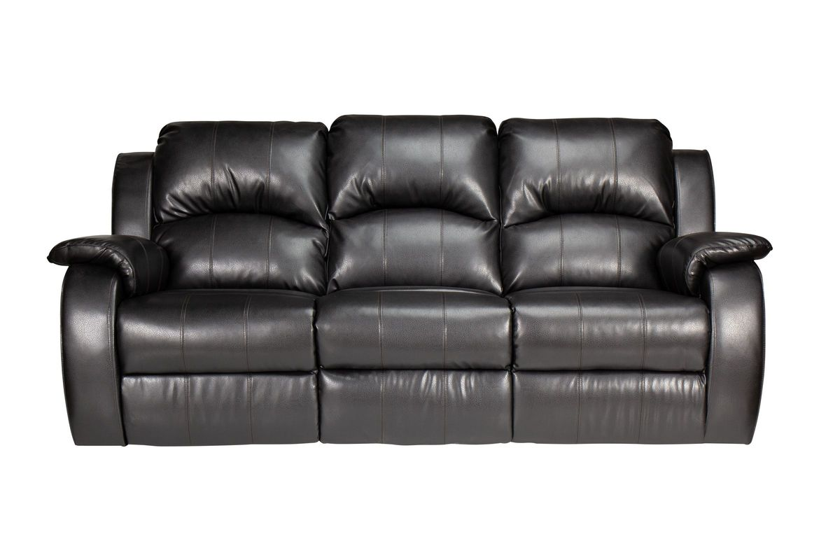 Tahoe Bonded Leather Reclining Sofa From Gardner White Furniture