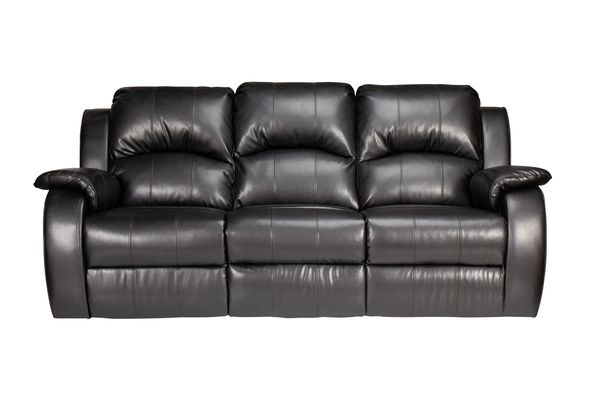 Featured Steal Tahoe Bonded Leather Reclining Sofa Save $550 Now $499.99
