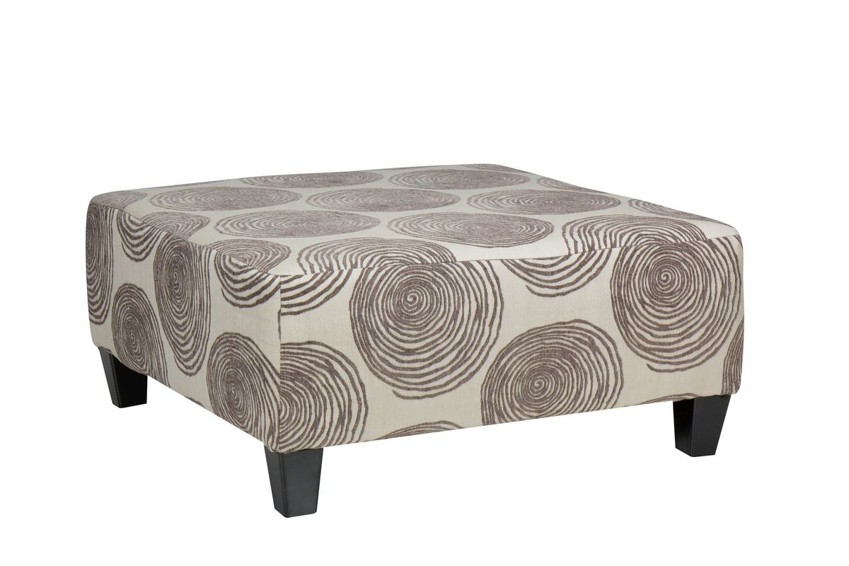 Gaylord Microfiber Cocktail Ottoman from Gardner-White Furniture