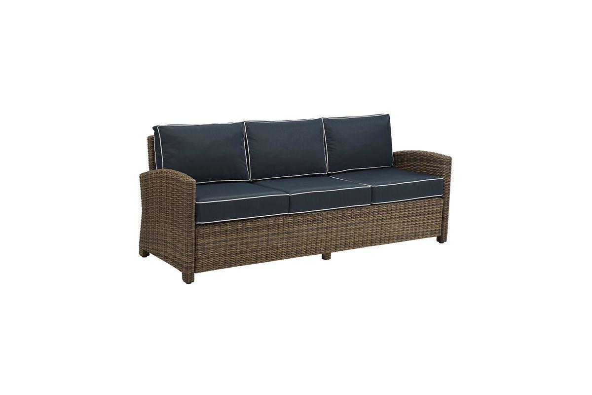 Bradenton Navy Sofa By Crosley At Gardner White
