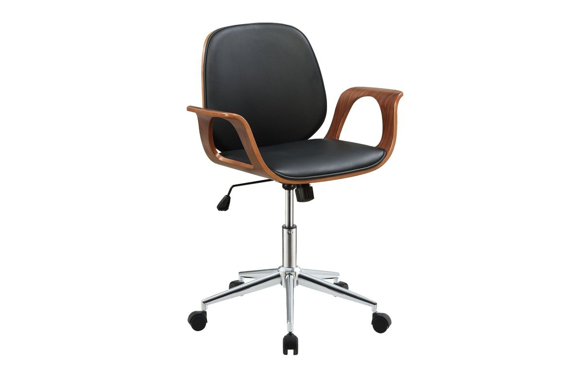 Camila Office Chair In Black Walnut By Acme From Gardner White Furniture